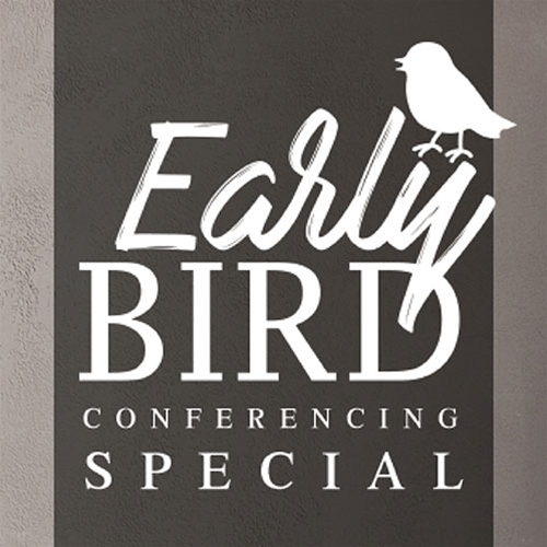 Early Bird Conference Special